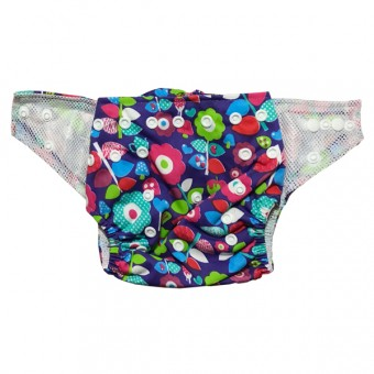 Baby - LUV ME - Eco Reusable Swim Nappy - Girls Swim Nappy