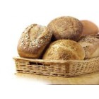 Bread - Strange Grains - Dinner Roll Yeast Free Soudough Buckwheat - Packet of 4 - Approx 60g each roll