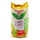 Groceries - Organic - Corn Cakes with Linseeds - 150g - Gluten Free