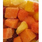 FROZEN - Conventional - Frozen Tropical Mixed Fruit (Papaya/Mango/Pineapple)- 1kg