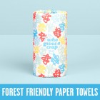 Groceries - WHO GIVES A CRAP PAPER TOWEL - 2 ply - 1 SINGLE ROLL - 120 sheets per roll