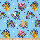 Groceries - Eco Friendly Re-usable Wrap/Mats - Blue Pony