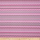 Groceries - Eco Friendly Re-usable Bag - Zip-it 15 - Pink Grey Chevron