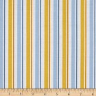 Groceries - Eco Friendly Re-usable Bag - Zip-it 15 - Yellow Blue Stripe