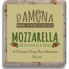 Dairy - Cheese - Mozzarella with Sundried Tomatoe  - DAMONA - 250g - Dairy Free Cheese