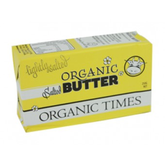Dairy - Butter - Organic Times - Salted 250g