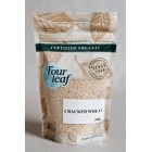 Groceries - Organic - Cereal - Cracked Wheat 300g Four Leaf Milling