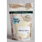 Groceries - Organic - Cereal - Millet Meal 300g Four Leaf Milling