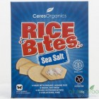 Groceries - Organic - Crackers - Rice Bites in Sea Salt  - 100g - Ceres