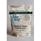 Groceries - Organic - Cereal - Original Rolled Oats 800g Four Leaf Milling