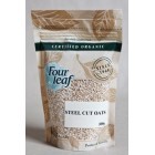 Groceries - Organic - Cereal - Steel Cut Oats 300g Four Leaf Milling