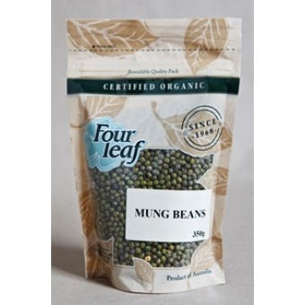 Groceries - Organic - Dried Beans - Australian Mung Beans 2kgs Sproutable