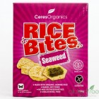 Groceries - Organic - Crackers - Rice bites Seaweed  - 100g - Ceres
