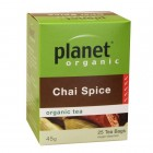 Organic - Drinks - Tea - Planet Organic - Chai Spice - 25 tea bags - 45g