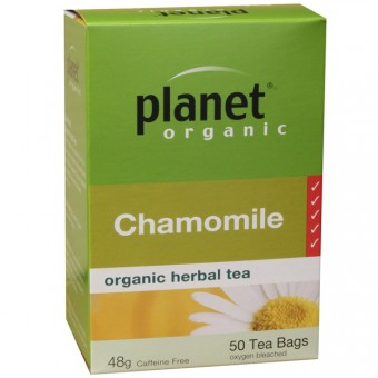 Organic - Drinks - Tea - Planet Organic - Chamomile - 25 tea bags - 20g