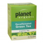 Organic - Drinks - Tea - Planet Organic - Decaffeinated Green Tea Bags - 25 bags - 36g