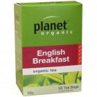 Organic - Drinks - Tea - Planet Organic - English Breakfast - 25 tea bags - 50g
