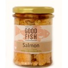 Groceries - Fish - Salmon - Salmon in Oil - Glass Jar - 200g - Good Fish