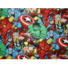 Groceries - Eco Friendly Re-usable Bag - Zip-it 20 - Marvel Heroes