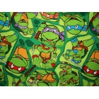 Groceries - Eco Friendly Re-usable Bag - Zip-it 15 - Teenage Mutant Ninja Turtles