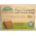 Groceries - If You Care - Baking - Sandwhich Bags 48 pieces