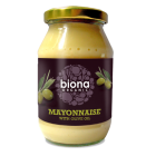 Groceries - Organic - Mustard -  Mayonnaise with Olive Oil 230g (Biona Organic)