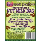 Groceries - Nutmilk Bag  250x300mm - Rawesome - RRP $17.00