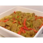 Meat - Beef - Curried Sausages with capsicum and carrots - 500g