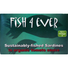 Groceries - Fish - Sardines - Whole in Organic Tomato Sauce 120g - Fish 4 Ever