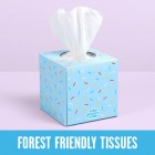 Groceries - WHO GIVES A CRAP 3ply TISSUES - 1 single box - 65 tissues per box