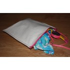 Groceries - Eco Friendly Re-usable Bags - Wet Bag 15 - Plain Calico