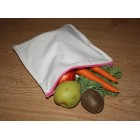 Groceries - Eco Friendly Re-usable Bag - Zip-it 20 - Plain Calico